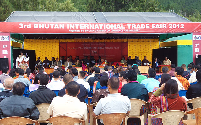 Bhutan International Trade Fair 2012 - BRAWFED