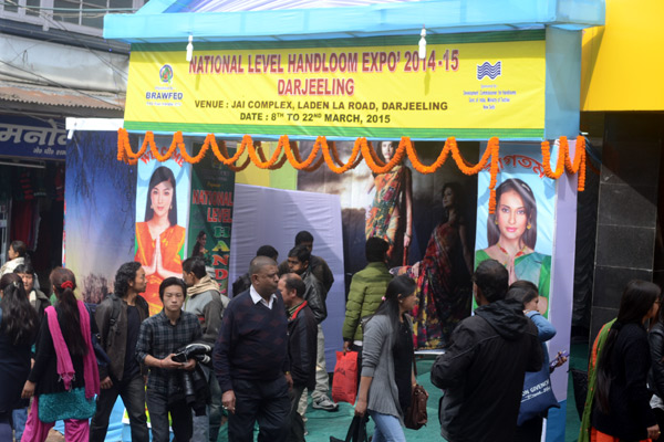 National Handloom Expo - Darjeeling 2014-15