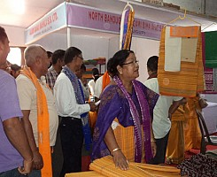 District Level Handloom Expo Kajolgaon 2012